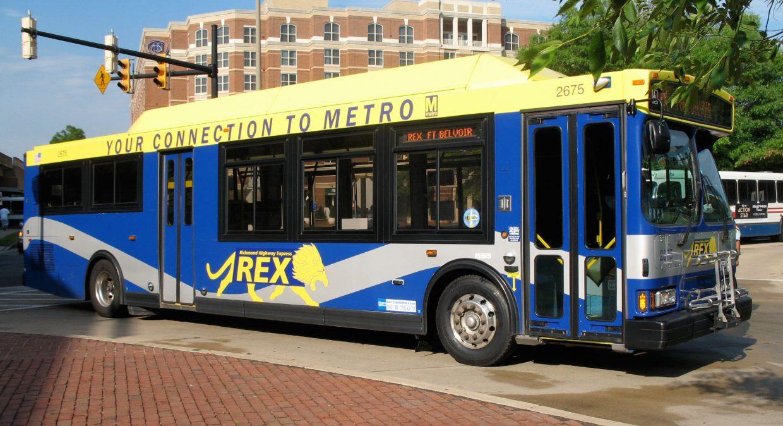 REX Richmond Highway Express bus