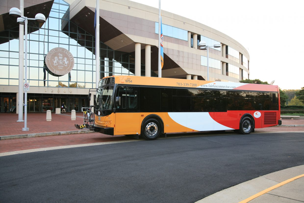 Fairfax Connector bus